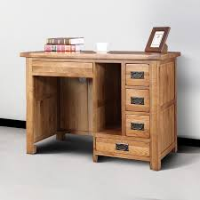 Solid Oak Office Furniture by Attractive Solid Wood Computer Desk Awesome Home Decorating Ideas