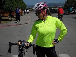 fluorescent bike jacket high vis jacket we like to bike