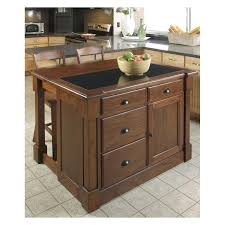 catskill craftsmen heart of the kitchen island with drop leaf