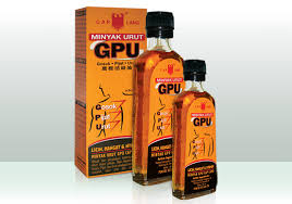 Dầu Nóng Minyak Urut GPU 60ml