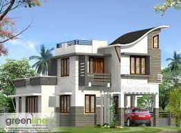 Contemporary Style House Plans Kerala House Plan Kerala House Elevation At 2991 Sqft Flat Roof