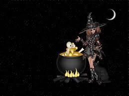 free halloween wallpaper download witch wallpapers desktop wallpapersafari