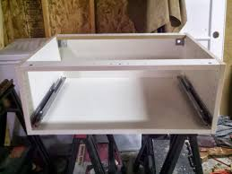 How To Install Kitchen Cabinets by How To Extend Tall Akurum Cabinet Base Unit For Floor To Ceiling