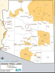 Southwest Colorado Map by Arizona Tribal Lands Maps Air Quality Analysis Pacific