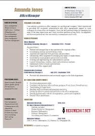 Sample Resume Of Office Administrator by Office Manager Resume Examples 2017 U2022