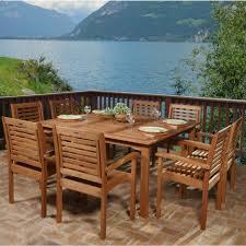 dining tables 9 piece patio dining set with umbrella round patio