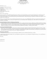 General job application cover letter example