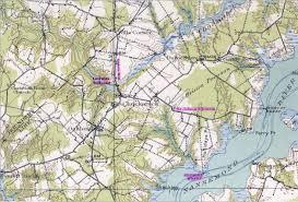 Virginia On Map by Nansemond Suffolk County Virginia Genealogy