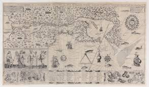 T Boston Map by Missing For A Decade Centuries Old Map Returns To Boston Public