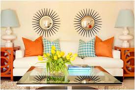 Turquoise And Green Lounge Room Ideas Unique Living Room Decorating Ideas Orange Accents Brown Walls
