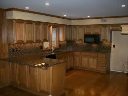 Dark Kitchen Cabinets With Backsplash Glamorous Ideas About Dark Kitchen Cabinets Backsplash Oak Wood