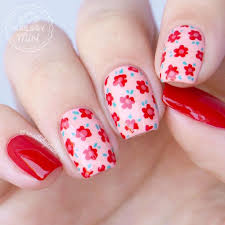 145 best floral nails images on pinterest flower power floral