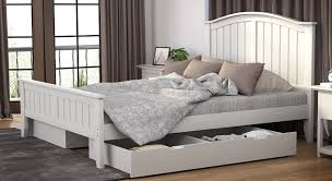 Buy Rubber Wood Furniture Bangalore Urban Ladder Wichita Solid Wood Queen Bed With Storage Price In
