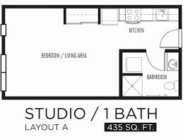 One Room Apartment Floor Plans Download Efficiency Apartment Floor Plan Buybrinkhomes Com