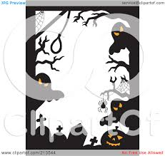 halloween ghost clipart black and white ghost borders clip art clipart collection