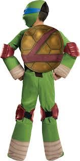 amazon com teenage mutant ninja turtles deluxe leonardo costume
