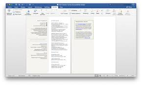 Thesaurus Assistant Gallery Of Free Resume Templates For Architects 5
