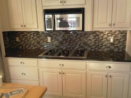 Mosaic Tiles For Kitchen Backsplash Glass Mosaic Tile Backsplash Design Modern Kitchen