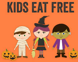 11 kids eat free offers for halloween 2016