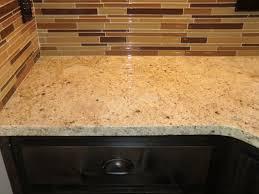 Glass Kitchen Backsplash Kitchen Stylish Glass Subway Tile Kitchen Backsplash All Home