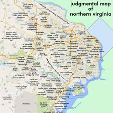 Virginia Tech Map Judgmental Maps Northern Virginia Arlington Va By Robert