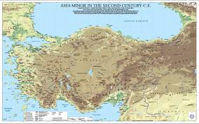 World Map Asia by Wall Map Now Available Asia Minor In The Second Century C E