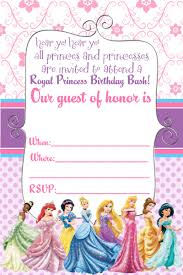 Free E Card Invitations Cool Free Printable Disney Princess Ticket Invitation Template