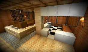 modern warm nuance inside the modern kitchen design of the