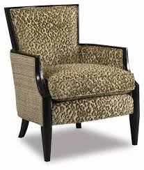 Colorful Accent Chairs by Upholstered Exposed Wood Accent Chair By Sam Moore Wolf And