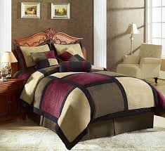 Red King Comforter Sets Black Cream Burgundy Comforter