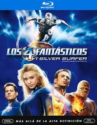 Los Cuatro Fantasticos Y Silver Surfer