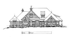 Stone House Plans Conceptual Design 1437 Updated Craftsman House Plan