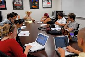 The    Best Academic Programs for Aspiring Screenwriters     Students particpating in the USC Writing for Screen and TV Video program