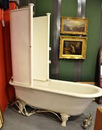28 shower for roll top bath burlington traditional hampton shower for roll top bath tennants auctioneers roll top bath with shower enclosure