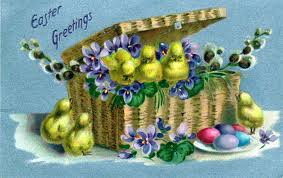 free vintage illustrations from antique easter postcards free