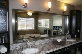 Bathroom Mirror Ideas On Wall Simple Framed Bathroom Vanity Mirrors Best 20 Ideas On With