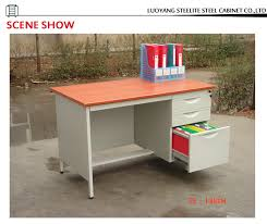 steel office desk with locking drawers office desk specifications