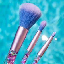 aquarium liquid glitter makeup brushes vegan u0026 cruelty free