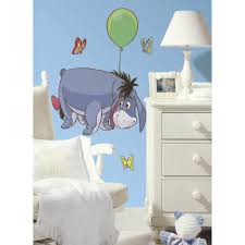Home Decorators Reviews Room Mates Winnie The Pooh Eeyore Giant Wall Decal Reviews Wayfair