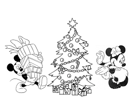 disney christmas coloring pages free printable coloring 10070