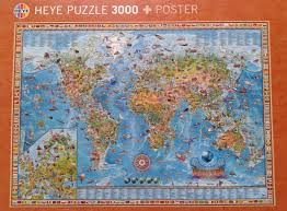 Kids World Map A Great Jigsaw Puzzle And A Great World Map For Kids