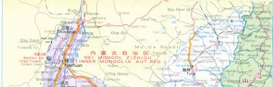 Map Of China Provinces Map Of Shannxi Province