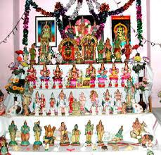 நவராத்திரி கொலு வைக்கும் முறையும், வழிபாட்டு முறையும்