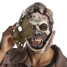 deluxe jason costume double scary mask costume craze