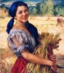 image of a smiling Filipina during harvest, borrowed from t3.gstatic.com