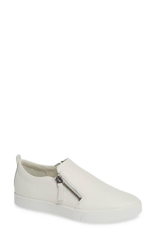 ECCO Gillian Side Zip Sneaker, Adult,