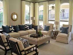 Country Living Room Curtains Elegant Nautical Furniture Decor With White Off Curtains On The