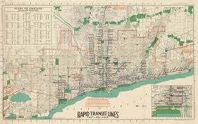 Chicago Line Map by Map Of Chicago Rapid Transit Lines 1926