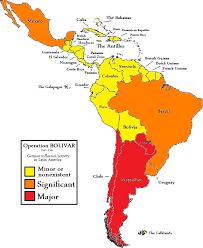Latin America Political Map by