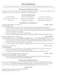 Summary Of Qualifications Sample Resume by Manufacturing Resume Example Manufacturing Resume Writing Samples